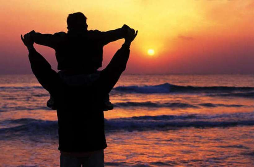 father-and-son-sunrise